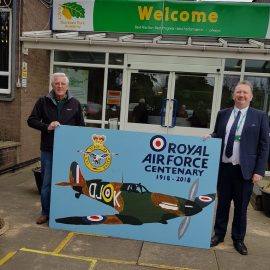 RAF Centenary Picture from Burnham Academy