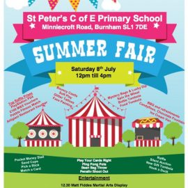 St Peters Summer Fair – 8th July