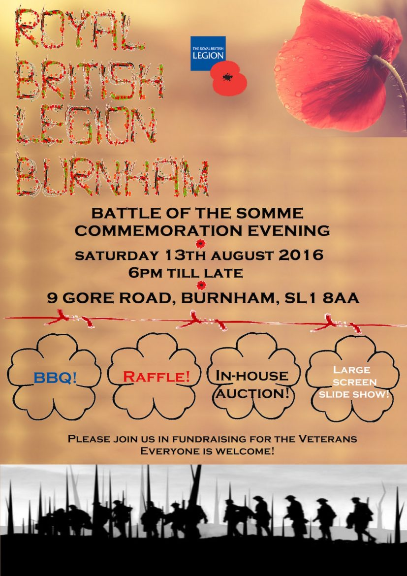 13th August Event Poster